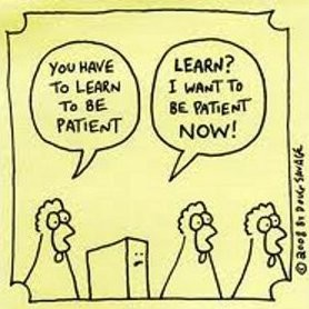 Spaans Leren Geduld